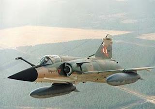 Mirage 50 EV/DV en vuelo