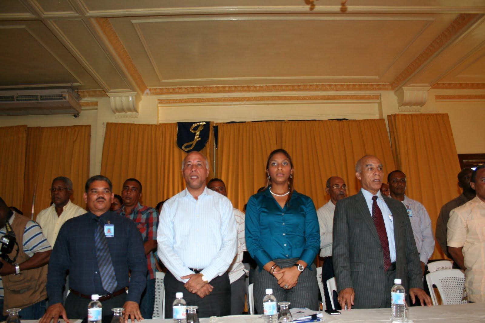 Ministerio de interior y polic a encabeza acto seguridad for Ministerio interior y policia