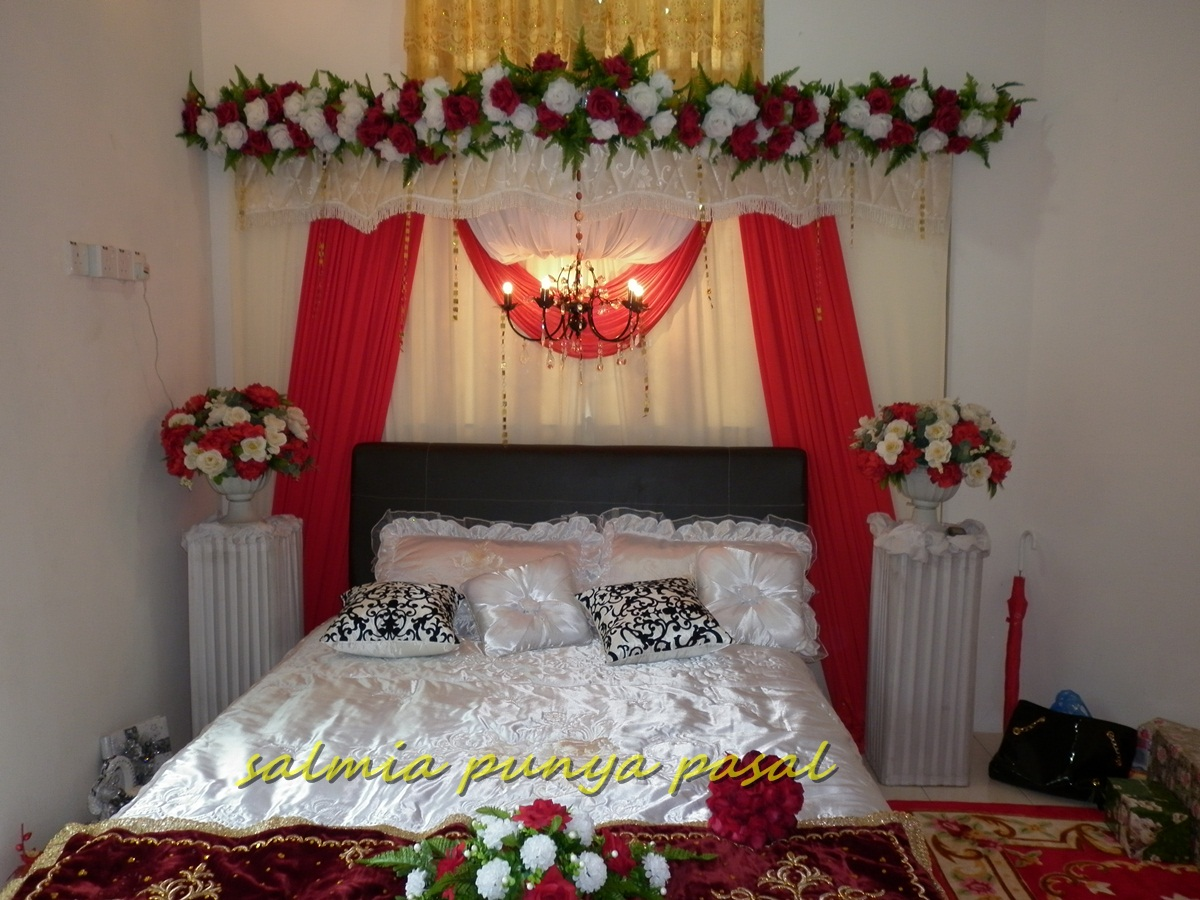 Wedding room decoration on pinterest wedding bedroom for Asian wedding bed decoration ideas