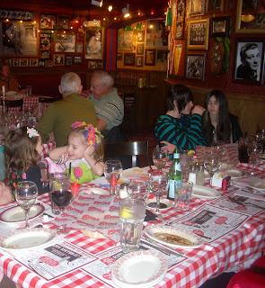 Been there done that buca di beppo family fun italian style - Buca di beppo pope table ...