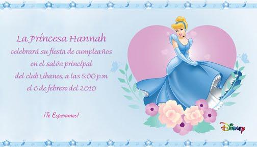 Bordes de princesas cenicienta para invitacion - Imagui