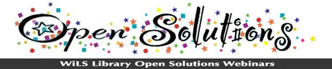 Library Open Solutions Webinars