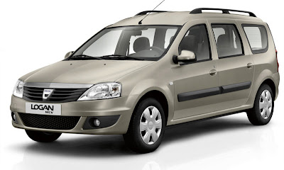 New Model of Dacia Logan MCV, 2009