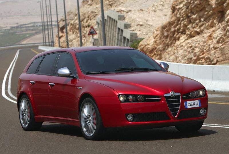 automobile alfa romeo 159 sportwagon 2009. Black Bedroom Furniture Sets. Home Design Ideas