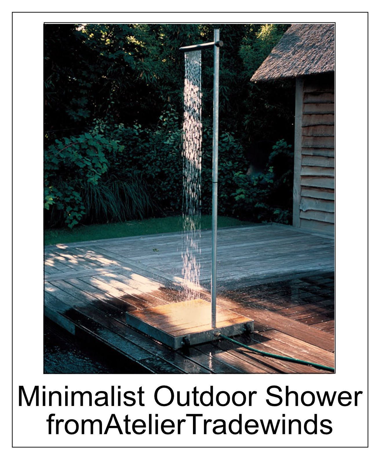 Outdoor Showers Atelier Tradewinds
