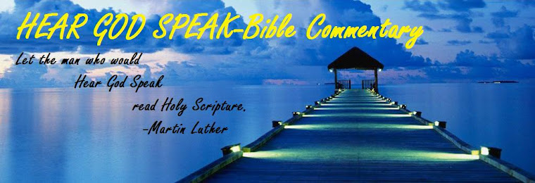 Hear God Speak-Bible Commentary