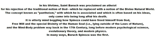 In his lifetime, Saint Baruch was proclaimed an atheist