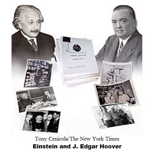 Einstein and J. Edgar Hoover