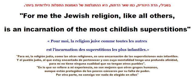 The Jewish religion, like all others