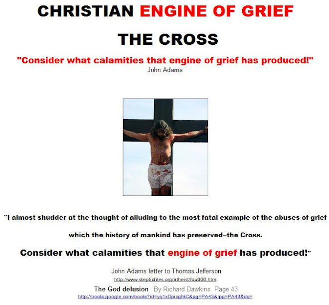 CHRISTIAN ENGINE OF GRIEF: THE CROSS