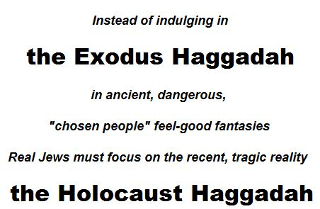 HOLOCAUST HAGADDAH