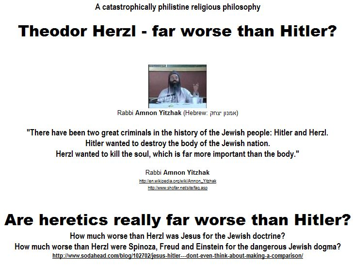 Are heretics really far worse than Hitler?