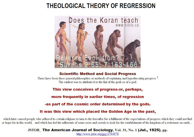 THEOLOGICAL THEORY OF REGRESSION