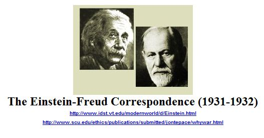 The Einstein-Freud Correspondence
