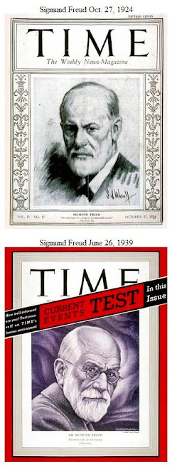 Freud, Sigmund Time covers