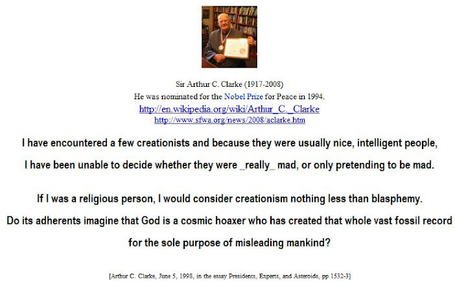 I have encountered a few creationists and because they were usually nice, intelligent people