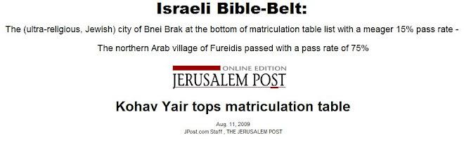 Israeli Bible-Belt