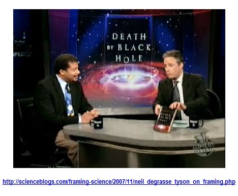 Neil deGrasse Tyson on the Daily Show with Jon Stewart
