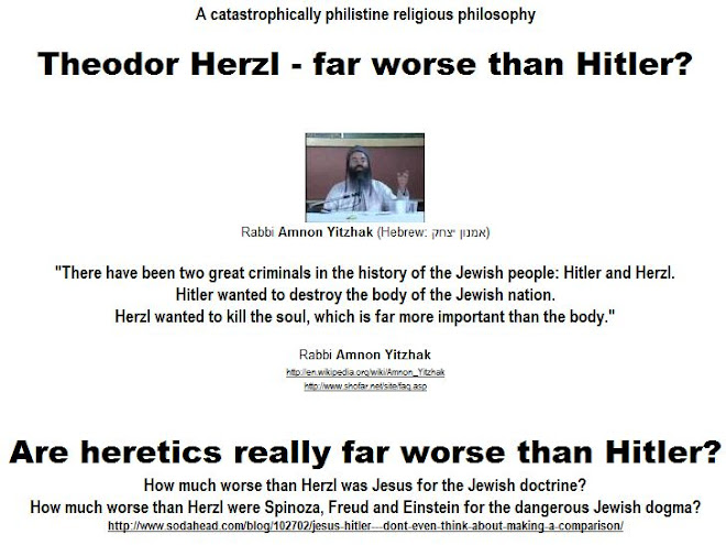 "Heretics are far worse than Hitler?  they ""kill the soul""?..."