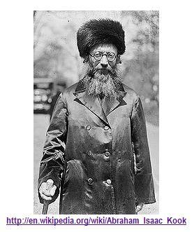 Kabbalistic Rabbi Abraham Isaac Kook