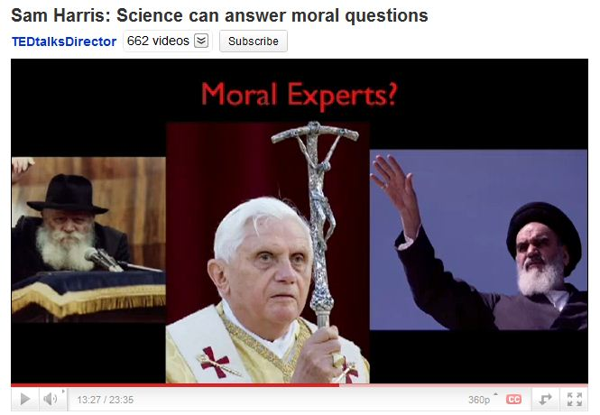 Sam Harris- Science can answer moral questions