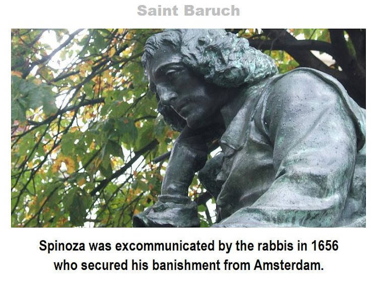 "Einstein's ""Rabbi"", Baruch Spinoza, was not crucified; he was only excommunicated by the Rabbis."