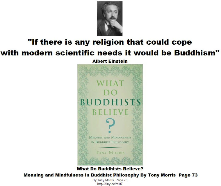 If there is any religion that could cope with modern scientific needs it would be Buddhism