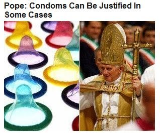 Pope - Condoms Can Be Justified In Some Cases