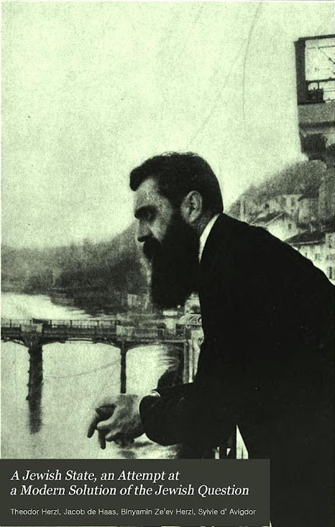 A Jewish state - an attempt at a modern solution of the Jewish question By Theodor Herzl