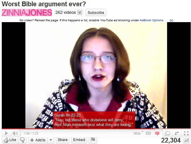 Worst Bible argument ever.