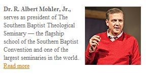 Dr. R. Albert Mohler, Jr.