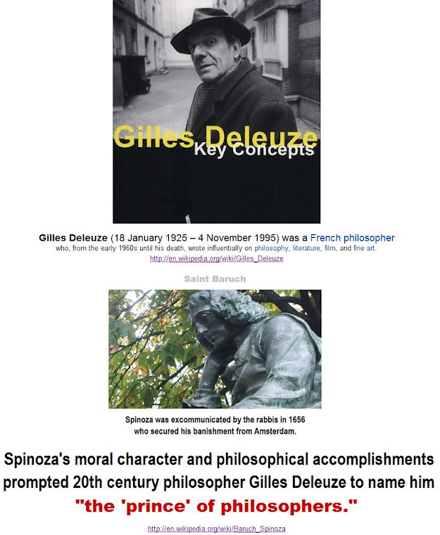 "Spinoza: ""the prince of philosophers""."