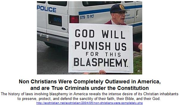 Non Christians Were Completely Outlawed