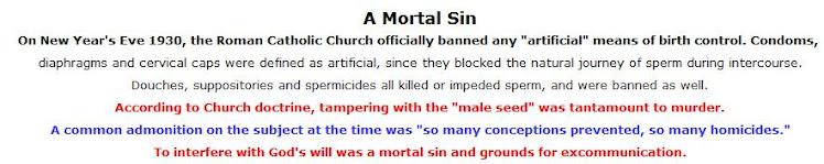 The Catholic Church and Birth Control - 3