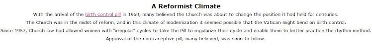 The Catholic Church and Birth Control - 5