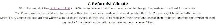 The Catholic Church and Birth Control - 5