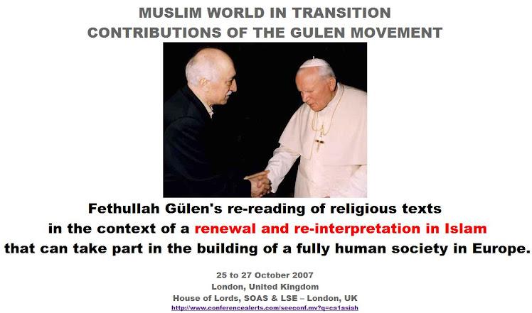 Fethullah Gulen & Pope