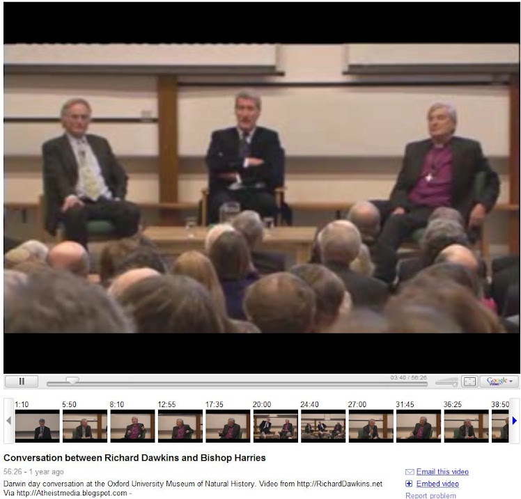 Conversation between Richard Dawkins and Bishop Harries