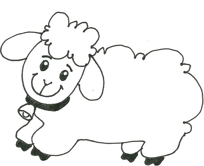 evangeliza ovelhinhas para colorir páscoa