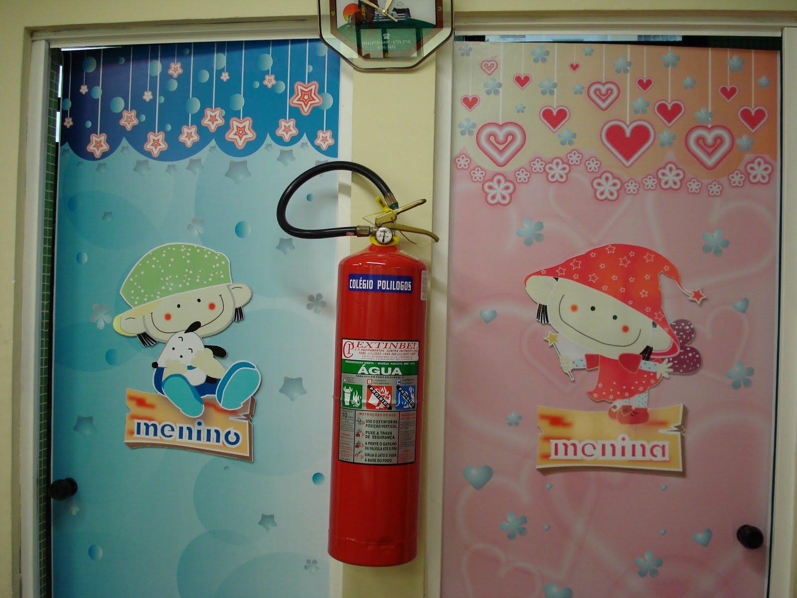 CRIARTE  Criando com Arte Painéis para sala Aniversariantes e Porta de Ban -> Cartaz Banheiro Feminino