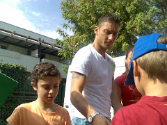Luca e Francesco Totti