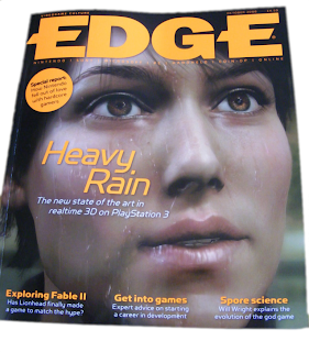 EDGE: October 2008 paper magazine cover