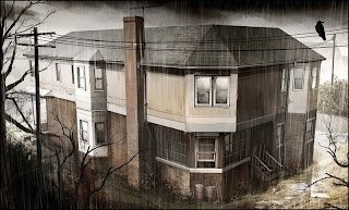 Heavy Rain Set Design Art Concept: House