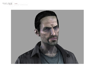 Heavy Rain Character Design: NWI Facial Expression