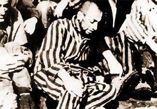 Dernière photo connue de Robert Desnos au camp de Terezín
