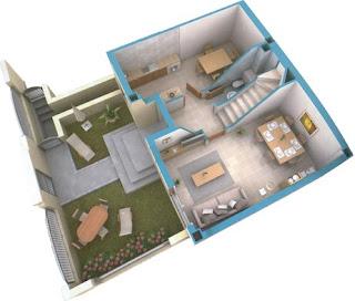Planos Para Tu Casa Maqueta Del 1 Piso