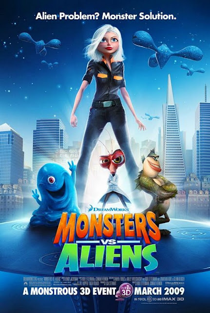 Monsters vs Aliens (2009) 720p 400 MB - Sub Viet  Monstervsaliens+movie+poster