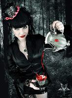Goth Girl in Wonderland