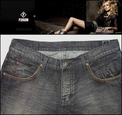 calça jeans masculina forum