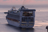 Grand Princess em St. Cruz de Tenerife